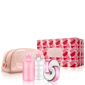 Bulgari Omnia Pink Sapphire Estuche 65 ml Vaporizador + Gel de Ducha 75 ml + Body Lotion 75 ml + Neceser