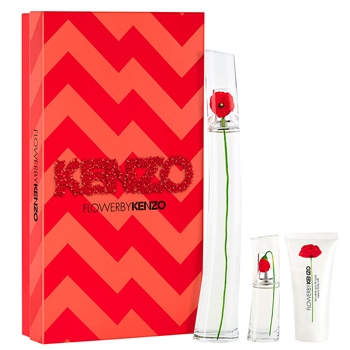KENZO FLOWER BY KENZO Estuche 100 ml Vaporizador + Body Lotion 50 ml + 15 ml Vaporizador