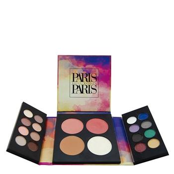 Mirlans Paleta Paris Sunrise 16 Sombras de Ojos + 2 Coloretes + 1 Polvo Compacto + 1 Iluminador