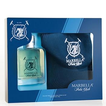 Marbella Polo Club Marbella Polo Club EDT Estuche 100 ml Vaporizador + Gorra