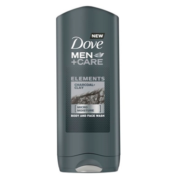 DOVE Men+Care Charcoal Clay 400 ml
