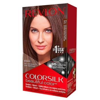 Revlon COLORSILK Beautiful Color Nº 27 Castaño Cálido Profundo