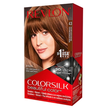 COLORSILK Beautiful Color Nº 43 Castaño Medio Dorado de Revlon
