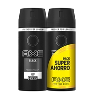 Desodorante Body Spray Black Duplo de AXE