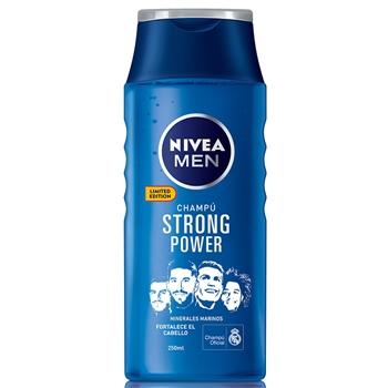 """NIVEA MEN Strong Power Champú 250 ml """"Edición Limitada"""""""