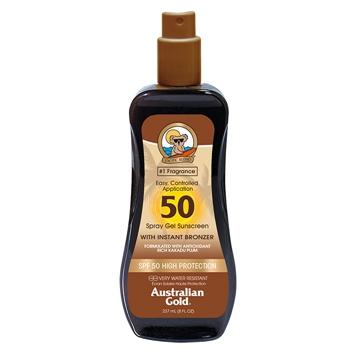Spray Gel Sunscreen SPF50 With Instant Bronzer de Australian Gold