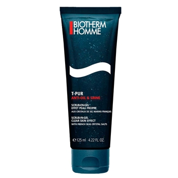 BIOTHERM HOMME T-Pur Anti Oil & Shine Salty Gel Cleanser 125 ml