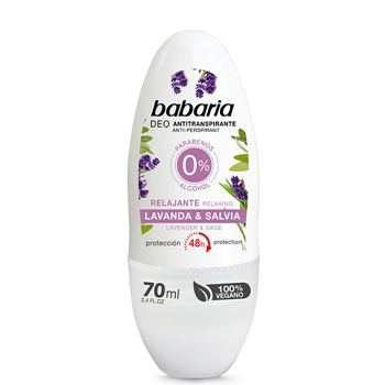 Babaria Desodorante Roll-On Lavanda & Salvia 70 ml