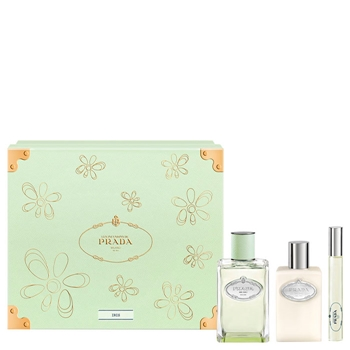 Prada Infusion d'Iris Estuche 100 ml Vaporizador + Miniatura 10 ml + Body Lotion 100 ml
