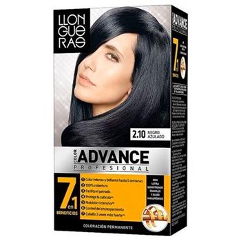 Llongueras Color Advance Tinte Nº 2.10 Negro Azulado 1 Unidad