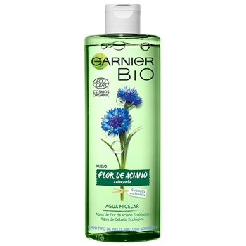 Bio Agua Micelar Flor de Aciano de Garnier