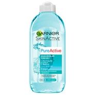 Skin Active Pure Active Agua Micelar Todo en 1 de Garnier
