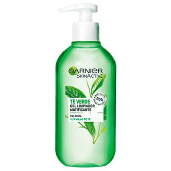 Skin Active Gel Limpiador Té Verde de Garnier