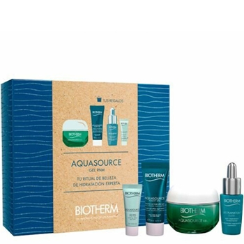 BIOTHERM Aquasource Gel Piel Normal Mixta Estuche 50 ml + 3 Productos