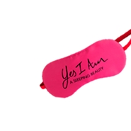 REGALO SLEEPMASK YES I AM PINK  de Cacharel
