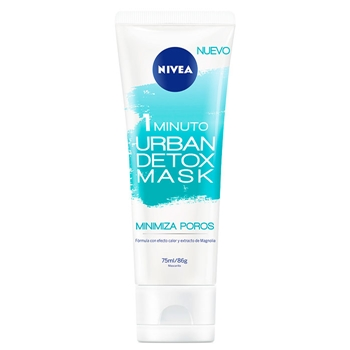 NIVEA Urban Detox Mascarilla Minimiza Poros 1 Minuto 75 ml