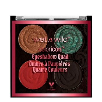 """Wet N Wild Color Icon Eyeshadow Quad """"Rebel Rose"""" House of Thorns"""