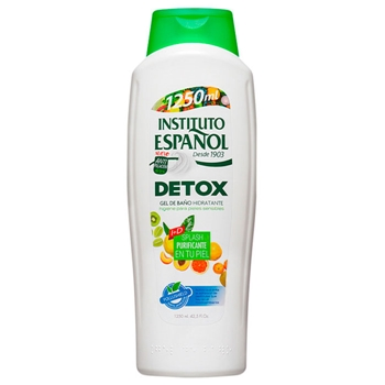 Instituto Español Detox Gel de Baño Hidratante para Pieles Sensibles 1250 ml