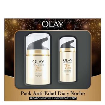 Total Effects Crema Anti-Edad Hidratante Estuche de Olay