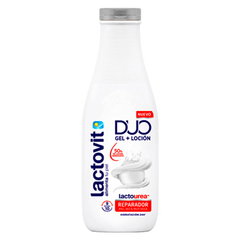 Lactovit Duo Gel + Loción Lactourea 600 ml