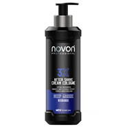 3X After Shave Cream Cologne Deep Marine de Novon