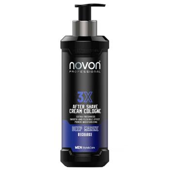 Novon 3X After Shave Cream Cologne Deep Marine 400 ml