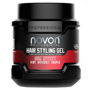 Novon Hair Styling Gel Gum Effect 700 ml