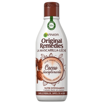 Original Remedies La Mascarilla-Leche Cacao Disciplinante 250 ml