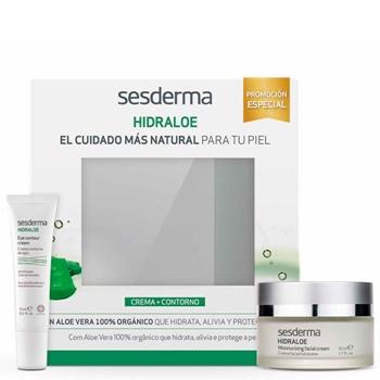Sesderma Hidraloe Crema Facial Estuche 50 ml + Hidraloe Eye 15 ml