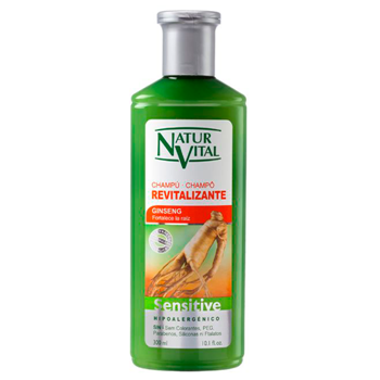Natur Vital Champú Sensitive Revitalizante Ginseng 500 ml