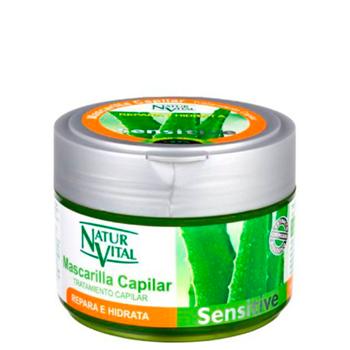 Natur Vital Mascarilla Capilar Sensitive Repara e Hidrata 500 ml
