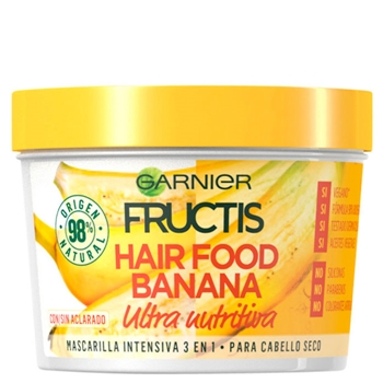 Fructis Hair Food Banana Mascarilla 390 ml
