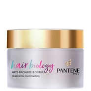 Hair Biology Gris Radiante & Suave Mascarilla de Pantene