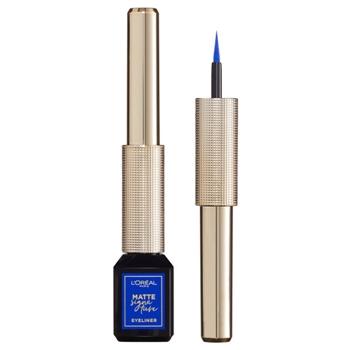 L'Oréal Matte Signature Liner Nº 02 Azul