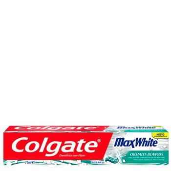 Max White Cristales Blancos de Colgate