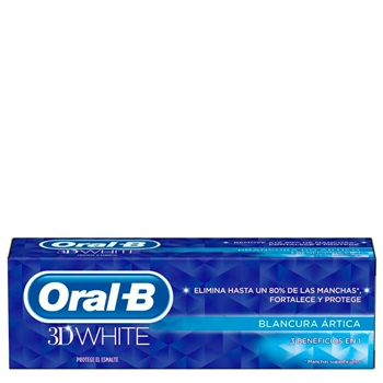 3D White Blancura Ártica de Oral-B