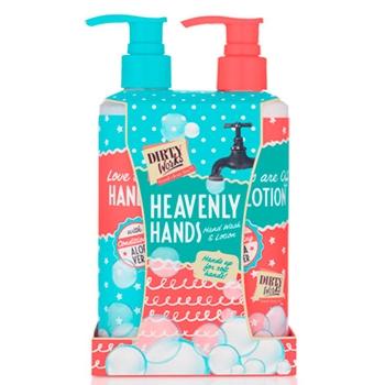 Dirty Works Heavenly Hands Duo Jabón de Manos 250 ml + Crema de Manos 250 ml