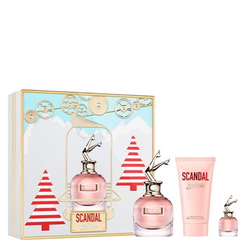 Jean Paul Gaultier SCANDAL Estuche 50 ml Vaporizador + Body Lotion 75 ml + Miniatura 6 ml