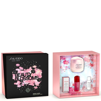 Shiseido White Lucent Brightening Gel Cream Estuche 50 ml + 3 Productos
