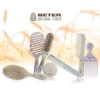 Cepillo Térmico de Cerámica Natural Fiber de BETER