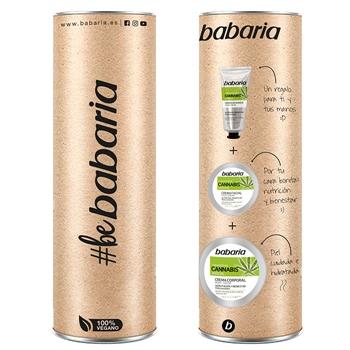 Babaria Crema Facial con Aceite de Cannabis Estuche 50 ml + 2 Productos