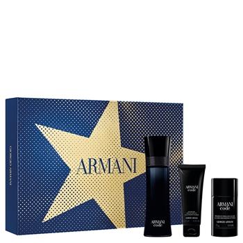 Armani CODE Hombre Estuche 125 ml Vaporizador + Gel Douche 75 ml + Déodorant Stick 75 ml