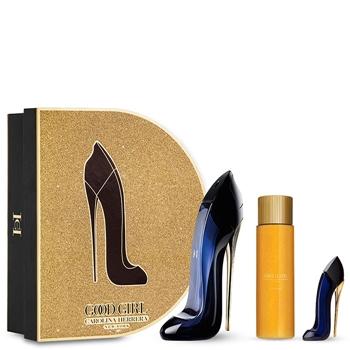 Carolina Herrera GOOD GIRL Estuche 80 ml Vaporizador + Leg Elixir Body Oil 100 ml + Miniatura 7 ml