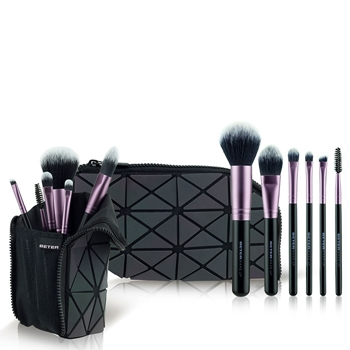 Beter Maxi Make Up Top Class Estuche Negro 2 Brochas + 4 Pinceles + Estuche
