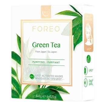 Foreo UFO Green Tea Mask 6 Unidades x 6 gr
