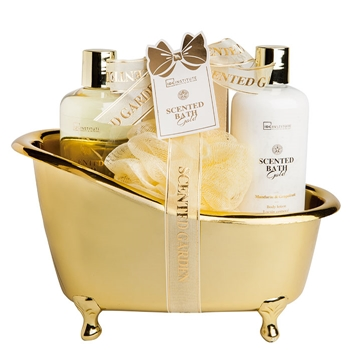 IDC INSTITUTE Set Scented Gold Bathtub 4 Productos