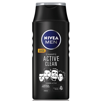 "NIVEA MEN Active Clean Champú 250 ml ""Edición Limitada"""