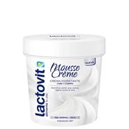 Mousse Crème Hidratante Cara y Cuerpo de Lactovit