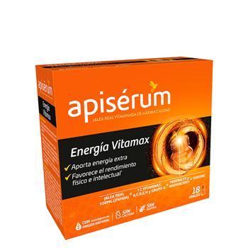 Energía Vitamax Viales de Apisérum