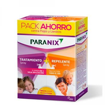 Paranix Elimina 2 Spray Pack 100 ml + Protege Spray 100 ml